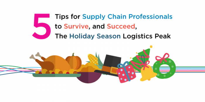 5 Tips for Supply Chain Professionals to Survive, and Succeed, The Holiday Season Logistics Peak