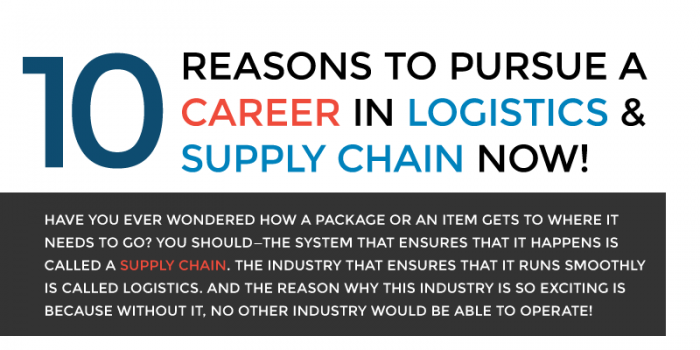 10 Reasons to Pursue a Career in Logistics & Supply Chain Now!