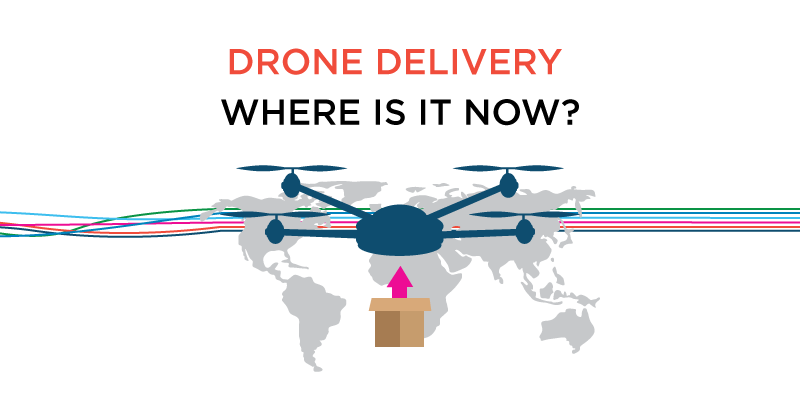Drone Delivery – Where is it now?