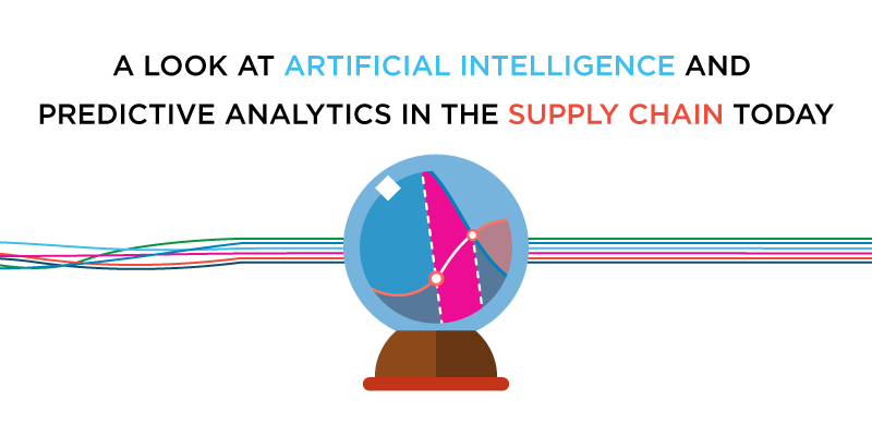A Look at Artificial Intelligence and Predictive Analytics in the Supply Chain Today