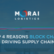 Top 4 Reasons Blockchain is Driving Supply Chains
