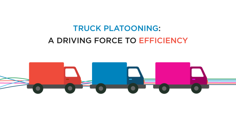 Truck Platooning: A Driving Force to Efficiency