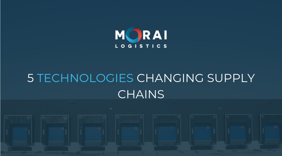 Technology - 5 Technologies Changing Supply Chains