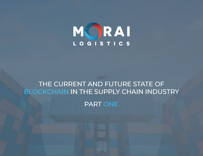 morai-logistics-ebook-state-of-blockchain-part1-cover-page