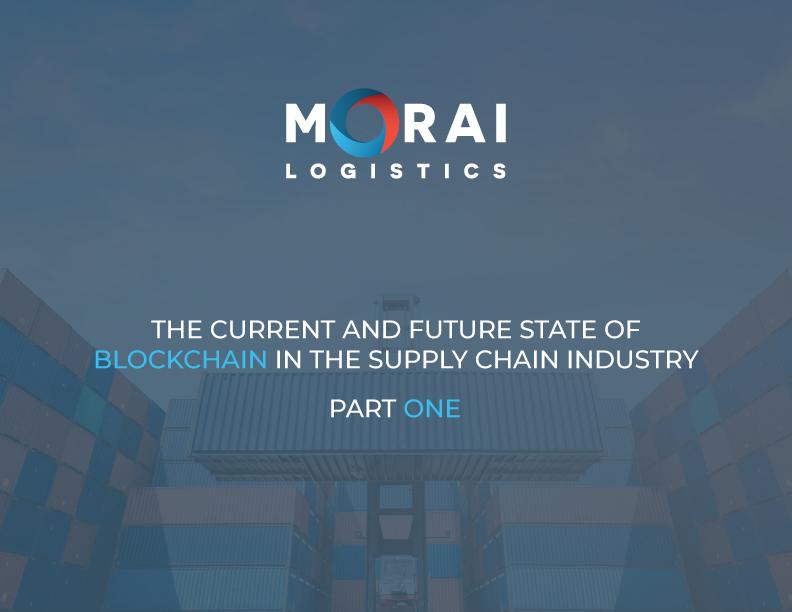 morai-logistics-ebook-state-of-blockchain-part1-cover-page