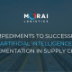 5 Impediments to Successful Artificial Intelligence Implementation in Supply Chains