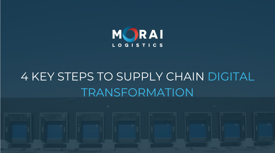 4 Key Steps to Supply Chain Digital Transformation