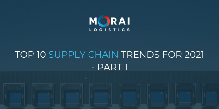 Top 10 Supply Chain Trends for 2021 – Part 1