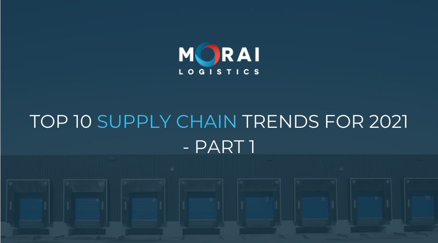 Top 10 Supply Chain Trends for 2021 - Part 1