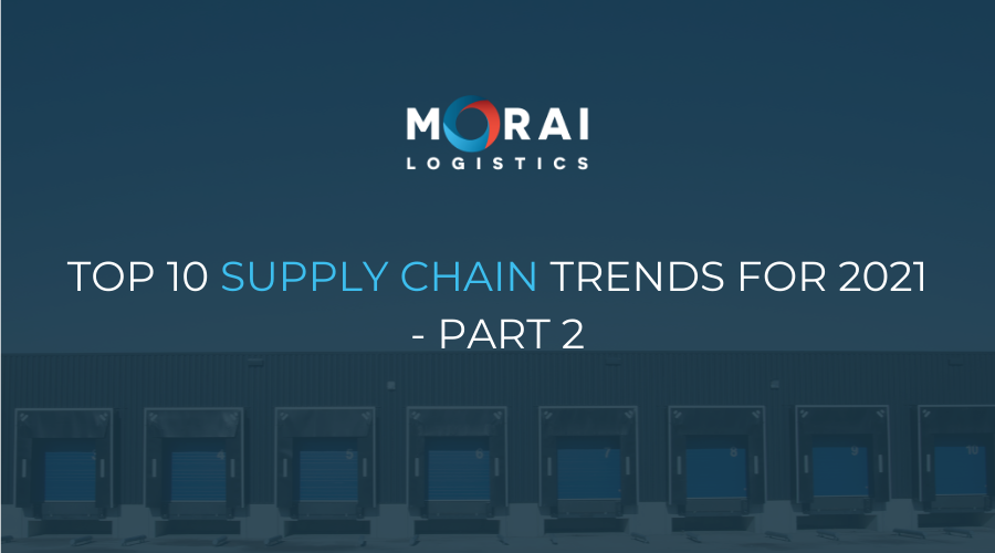Top 10 Supply chain trends for 2021 - Part 2