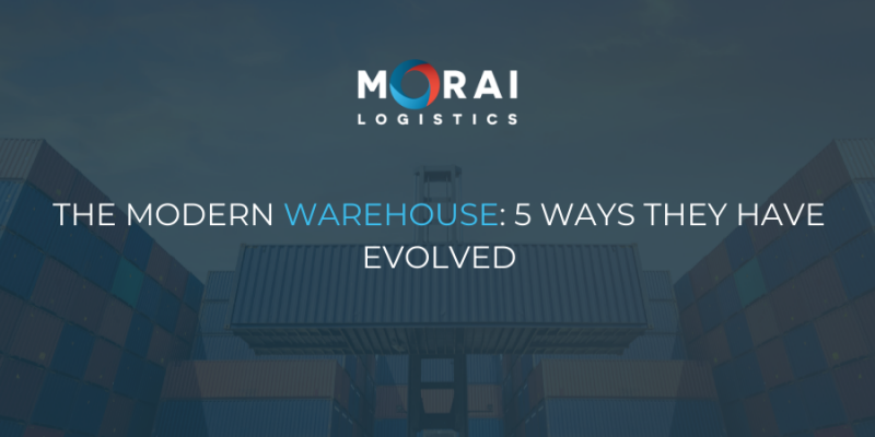 The Modern Warehouse: 5 Ways They Have Evolved