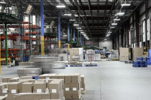 Distribution warehouse center